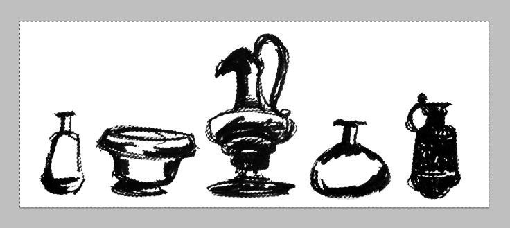 Invert line art (Cmd+I).