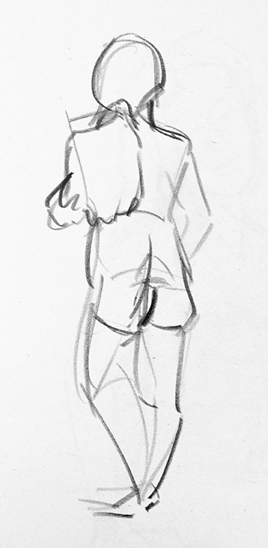 Life Drawing, 15th January – AJ Aiken